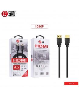 HIGH SPEED HDMI CABLE 1.5M CAVI HDMI 2,01€