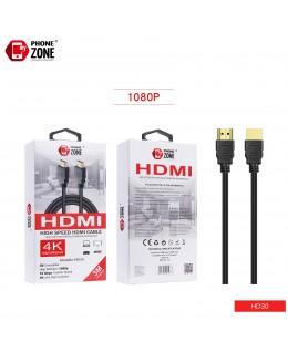 HIGH SPEED HDMI CABLE 3M CAVI HDMI 2,38€