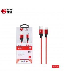 CAVO USB PER MICRO ROSSO BZX-102 MICRO/V8 1,53€