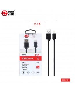 CAVO USB PER IOS 3M NERO IOS 2,44€