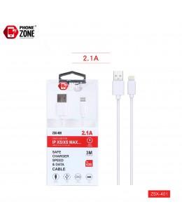 CAVO USB PER IOS 3M BIANCO IOS 2,44€