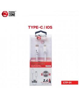 CAVO USB TYPE-C/IOS IOS 3,42€