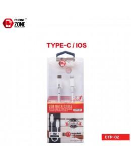 CAVO USB TYPE-C/IOS FAST CHARGE IOS 4,94€