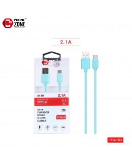 CAVO USB PER TYPE-C VERDE TYPE-C 1,59€