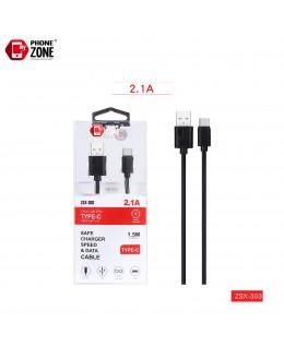 CAVO USB PER TYPE-C 1.5M NERO TYPE-C 1,71€