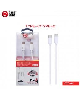 CAVO USB TYPE-C/TYPE-C TYPE-C 2,50€