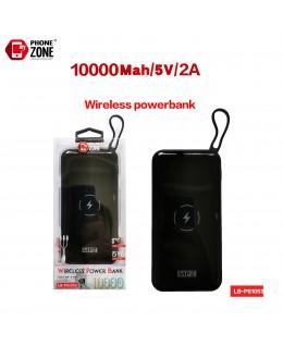 WIRELESS POWER BANK 10000MAH NERO POWERBANK 15,25€