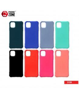 COVER MORBIDA OPACA COLORATA ANGOLI RINFORZATI iPhone 7/8 1,28€