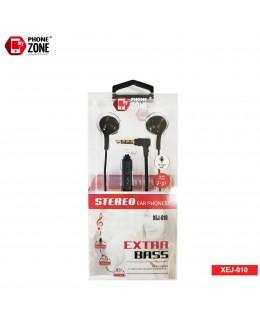 STEREO EARPHONE EXTRA BASS XEJ-010 NERO CUFFIE E AURICOLARI 2,44€