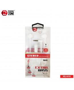 STEREO EARPHONE EXTRA BASS XEJ-010 BIANCO CUFFIE E AURICOLARI 2,44€