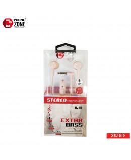 STEREO EARPHONE EXTRA BASS XEJ-010 ROSA CUFFIE E AURICOLARI 2,44€